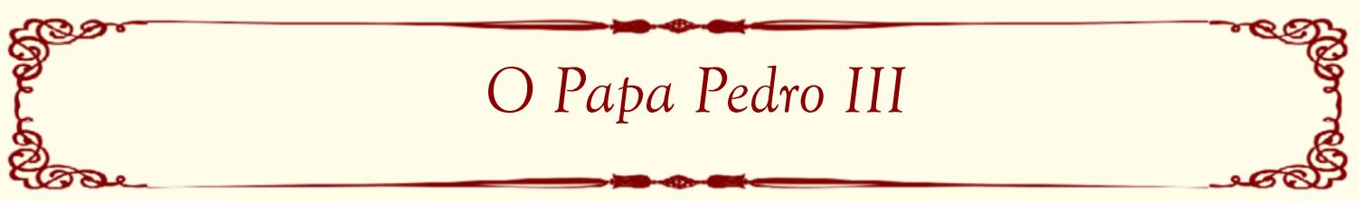 O Papa Pedro III